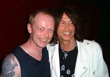 Tasty Dave and Steven Tyler